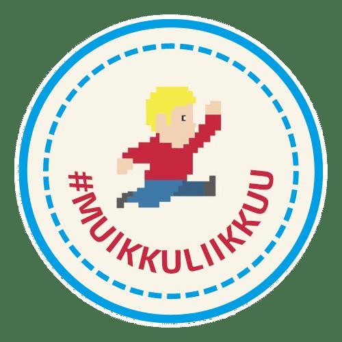 """""""Muikku liikkuu""""-sivun logo."""